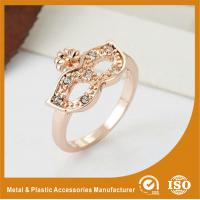 China Silver Plated Metal Fashion Jewelry Rings For Women Finger Rings on sale