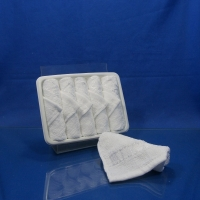 Best Traveling PVC Tray Airline Satin Viscose Towel wholesale