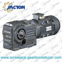Best 30HP 22KW K Series bevel speed reducer, cast iron bevel gear box Specifications wholesale