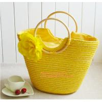 China Summer New Fashion Straw Bag Designers Brand Women Handbag High-Capacity Women Handbag on sale