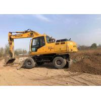 China Weight 21800kg Used Wheel Excavator Hyundai 210 Construction Machine on sale