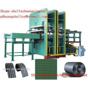 China interlocking rubber floor mat vulcanizing press on sale
