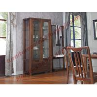 Best Solid wooden with Glass Door Sideboards for Wine Cabinet in Dining Room Furniture wholesale