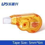 Buy cheap 6M Orange Correction Tape Student Stationery Plastic Mini Correction Roller product