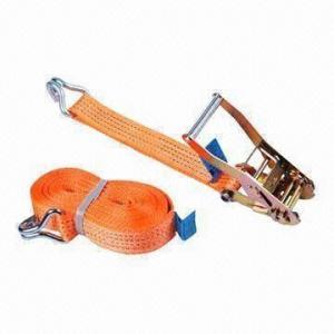 Buy cheap Ratchet lashing/cargo lashing strap/lifting lashing/ratchet tie down, cargo nets from wholesalers