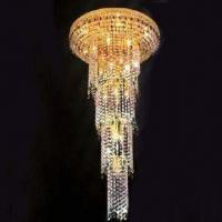 Buy cheap Crystal Chandelier with 26 Lights, Measures 600 x 1,150mm from wholesalers