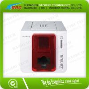 China Evolis Zenius pvc card printing machine on sale
