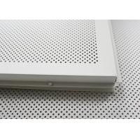 Best Fireproof dropped acoustical ceiling tiles Lay In for building Suspended Ceiling tiles 2x4 wholesale