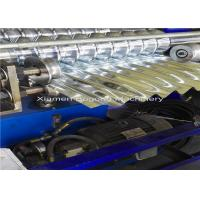 Best Aluminum Corrugated Metal Roofing Roll Former 5.5Kw Driving Motor Logo Embossment wholesale