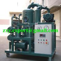 China ZYD-50 Double Stage High Vacuum Transformer Oil Treatment Plant on sale