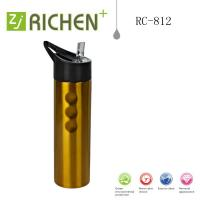 China sport bottle single wall stainless steel with straw lid RC-812 750ml on sale