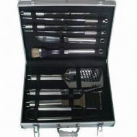 Best BBQ Tool Sets with 430# Stainless Steel Handle wholesale