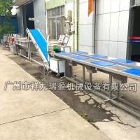 China Stainless Steel Salad Production Line  / Industrial Vegetable Inspecting Processing Line on sale