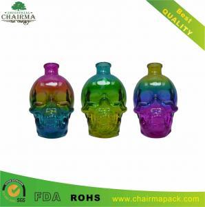 Best Skull-shape Glass Bottle for Vodka or Whisky wholesale
