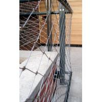 China 1.2mm Stainless Steel Balustrade Mesh , Stainless Steel Banister Guard Netting on sale