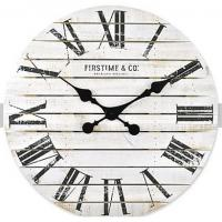 Best Fancy wooden retro vintage large MDF rustic custom elderly farmhouse decoration Rustic Country Style wall clock wholesale