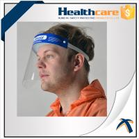 Best Hospital Protection Disposable Full Face Shields , Safety Medical Face Shield Visor wholesale