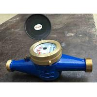 China Residential Cold Water Multi Jet Meter Iso4064 Class B With Brass House on sale