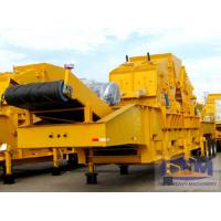 Best Construction Waste Tyre Mobile Impact Crushing Plant wholesale