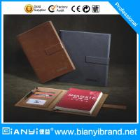 Best Loose leaf leather journal diary notebook/custom raw materials of notebook manufacturer wholesale