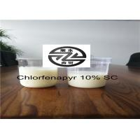 Best Chemical Pesticide 10% SC Chlorfenapyr Products 1.53g / cm³ For Harmful Insect wholesale