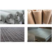Best AISI 316 Stainless Steel Welded Mesh Sheets / Panels SWG 25 With 30m Length wholesale