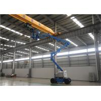 Best 2 Man Small Boom Lift , Aerial Lift Equipment 80 Ft Hydraulic Type High Reach wholesale