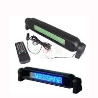 China Car 12V LED Message Sign Programmable Scrolling Display Board Blue 7*50 Dots on sale