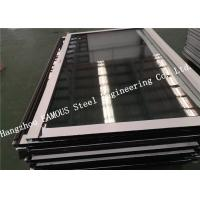 China UK British BS Standard Certified Customized Glass Curtain Wall Aluminum Alloy Windows and Doors on sale