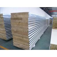Mineral Wool Sandwich Panel : Details of white insulated sandwich panels fireproof