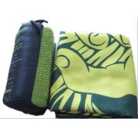 China 80% polyester +20% polyamide soft and super absorbent microfiber extra large bath towel with logo printed on sale