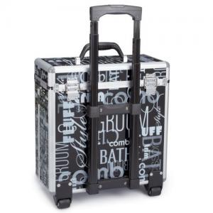 Best Professional Aluminum Hairdresser Tool Case , Rolling Hairdressing Storage Case wholesale
