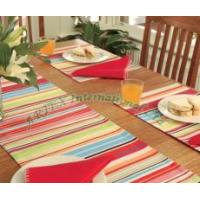 Buy cheap Multicolor Stripe Table Runners from wholesalers