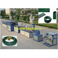 China Flexible PVC Pipe Making Machine / Pvc Pipe Extrusion Line With CE Certificate on sale