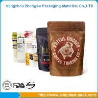 Best Food packaging three side seal standup pouches film wholesale