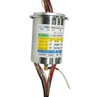 China Hybrid Slip Ring Transmitting Power with High Frequency Rotary Joint for Medial Engineering Equipment on sale