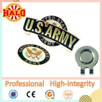 Buy cheap Hot Selling Usa Flag Shape Golf Ball Marker On Magnetic Cap Clip from wholesalers