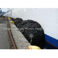 Best Anti - Aging Natural Rubber Floating Marine Rubber Fender With Chain Net wholesale