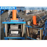 Best 5   6   7   Portable Mobile Round Gutter Roll Forming Machine For Half Round Gutter wholesale
