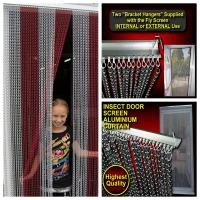 Best Highest Quality Aluminum Chains Insect & Fly Screen wholesale