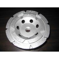 Best Hot sales different sizes double row segment cup grinding wheels wholesale