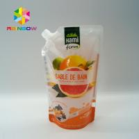 Buy cheap BPA Free Plastic Packaging Bag Ziplock Reusable Drink / Water Food Containers product