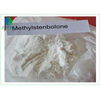China Methylstenbolone Anabolic Androgenic Steroids Raw Powder For Strength Gains on sale