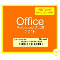 Cheap MS Digital Microsoft Office Key Code 2016 Professional Plus COA License Sticker for sale