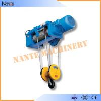 Best High Efficiency 0.5 Ton / 1 Ton Electrical Wire Rope Hoist For Mining / Factory / Dock wholesale