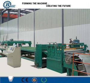 China Adjustable Cut To Length Line 1800mm , Sheet Metal Slitting Machine on sale