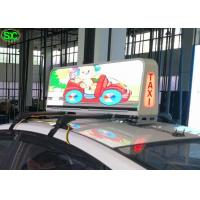 Best High Resolution P6 Car LED Sign Display RGB 3 In 1 Pixel Configuration wholesale