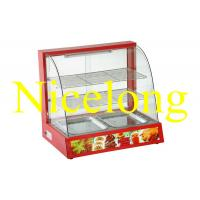 China ELW-990R electronic curved glass food warmer for catering on sale
