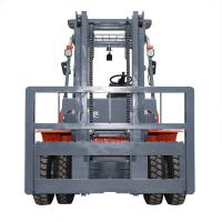China 1220 Fork Length 5 Ton Diesel Operated Forklift Automatic / Manual Transmission on sale