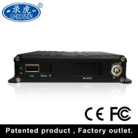 China Buses Digital Video Recorder SD Card DVR / Micro SD 4 Channel Car DVR Recorder on sale